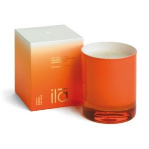 Ila Orange Blossom Candle for Higher Energy