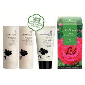 Living Nature Skin Steps to Enrich Dry & Mature Skin