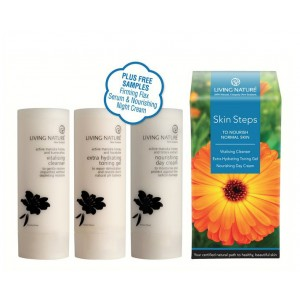Living Nature Skin Steps to Nourish Normal Skin